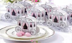 cendrillon enchanté transport mariage bonbons boîtes-Cadeaux faveurs de mariage …