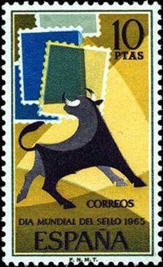 Día mundial del sello - 1965