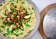 Fabulous Moroccan themed party from episode 6 of The Hostess with Lorna Maseko: Moroccan Cauliflower and chickpeas  #foodies #abmlifeisbeautiful #huffposhaste #feedfeed #livethelittlethings #myopenkitchen #lifeandthyme #onthetable #eattheworld #lifeisgood #yougottoeatthis #eats #Igfood #gooeats #foodforthought #foodstyling #eattherainbow #f52grams #yahoofoods #foodgawker #food52 #scrumptios #simplydelicious #sweetpaul #mydrunkkitchen