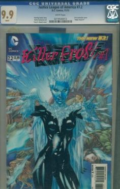 Justice League of America #7.2 CGC 9.9 not 9.8 Highest Grade Killer Frost #1