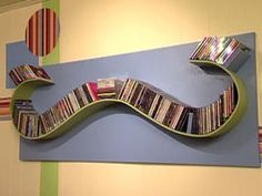 Build a Wave-Shaped CD Rack : Decorating : Home & Garden Television