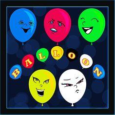 Toca los globos para eliminarlos. Google Play, Get A Life, Heart Balloons, The Balloon, Animation, Games, Globes, Gaming, Animation Movies