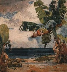 Winslow Homer   WATERCOLOR ~Repinned Via Esther Morales