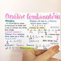 MATEMÁTICA - ANÁLISE COMBINATÓRIA. #resumosonhodamedicina #resumos #matematica #medicina #enem
