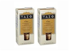 #holidaycooking 64-oz. Chai Liquid Tea by Tazo Teas