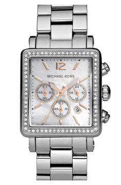 Michael Kors...I'm loving this one, since I keep reading about how the rose gold rubs off on the other watches.