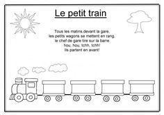 Le petit train Father Songs, Activities For Kids, Transportation, Poems, Cycle 1, Matins, Images, Music Nursery, Kids Songs