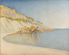 Paul Signac - Cassis, Cap Lombard (1889) Source: https://en.wikipedia.org/wiki/Paul_Signac