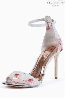 Ted Baker Oriental Blossom Floral Printed Two Part Sandal