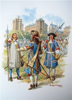 French; Infantry, unspecified regiment, c.1680