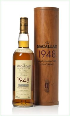 The Macallan 1948 Single Highland Malt Scotch Whisky Select Reserve #whisky