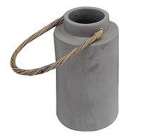 Lanterna Soft –Cinza - 27cm