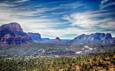 "Just outside of Sedona, this ""Red Rock Scenic Byway"" boasts some of the most beautiful red rock form... - Ally Hirschlag"