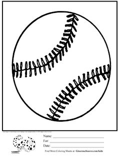 coloring pages for boys baseball bat Coloring Pages Pinterest