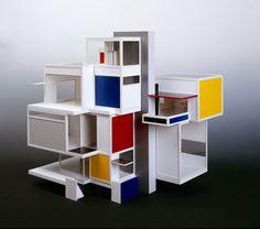 Théo VAN DOESBURG, Model de maison d'artiste
