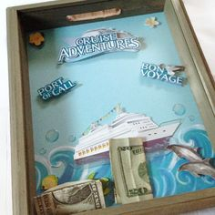 Shadow Box Wish Bank  Cruise by GlitterWitches on Etsy, $35.00