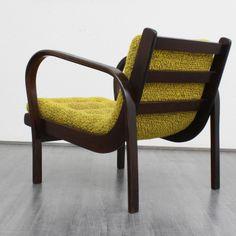 K. Kozelka and A. Kropacek; Wood Lounge Chair, 1946.