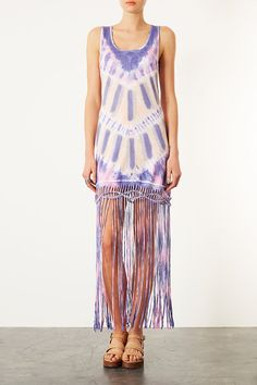 Purple Tie Dye Maxi Cover Up - New In This Week - New In - Topshop