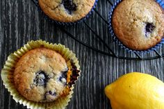 Lemon Berry Muffins with Quinoa Flour – Gluten Free & Coconut Free | The Honour System