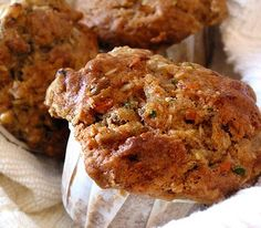 Best Ever low fat Zucchini Carrot Muffins! Lots of Breakfast recipes and others on this site!