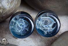 Pyrex glass smoke plugs