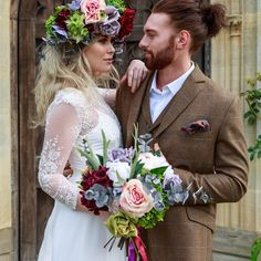 Loving this photo of Grace wearing our Tatiana gown and Frankie at this styled shoot with faux florals by V V Raven. Some Beautiful Images, Raven, Florals, Floral Design, Floral Wreath, Stylists, Wreaths, Gowns, How To Wear