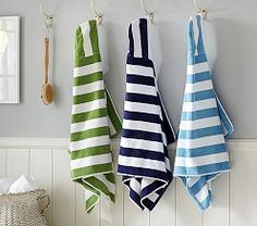 Kids' Hooded Towels, Hooded Bath Towels for Toddlers | Pottery Barn Kids
