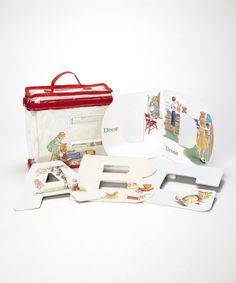 Look at this Dick and Jane Alphabet in a Bag Set on #zulily today!