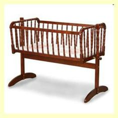 Angel Line Jenny Lind Cradle Finish: Cherry 7129, #Angel_Line_7129 |  BabyNKidMall | Pinterest | Jenny Lind, Angel And Cherries