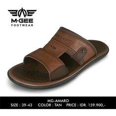 M-GEE Footwear MG-AMARO Tan