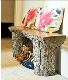 Natur Bank Holz