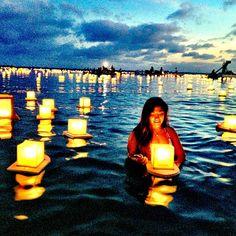 lantern festival 2013 annual lantern floating hawaii ceremony