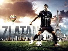 "Zlatan""Ibra"" Ibrahimovic PSG 2012-2013 HD Best Wallpapers"