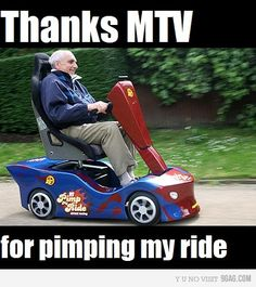 mtv pimping your ride for senior citizens
