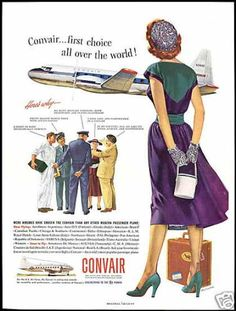 Convair ad from the 1950s