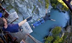 Bungy jump with AJ Hackett! While they have other locations in New Zealand (and in various other countries), the Kawarau Bridge in Queenstown is the original commercial bungy site. People of all ages and all kinds are welcome to jump! Whether it's your first time jumping or you're a pro, it's a great rush!