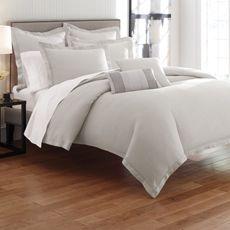 BED BATH & BEYOND - Bellora Linen Silver Duvet Cover, 100% Linen