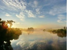 Morning near river Latvia Country, River, Outdoor, Outdoors, Outdoor Games, The Great Outdoors, Rivers