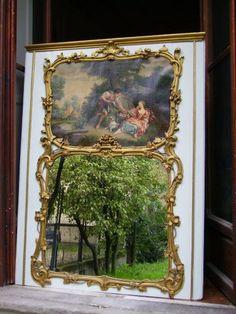 Paire d'Importants Trumeaux Vénitiens, XVIIIème Siècle