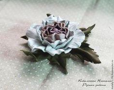 прекрасная роза из кожи. мастер-класс. Обсуждение на LiveInternet - Российский Сервис Онлайн-Дневников