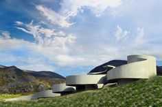 June 24th, 2012 – In the past five years Norway has given its architectural infrastructure a massive boost! Hopefully – we've all familiarized ourselves with their famed tourist rest stops, still in progress. The most recent development has been the curvy new Havoysund rest stop designed by Reiulf Ramstad.