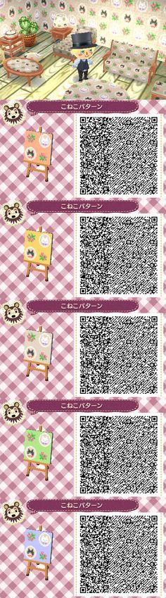 Animal Crossing New Leaf Qr Codes Bumbury Lawn Forest