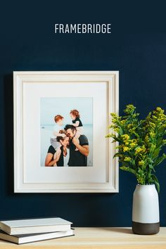 Custom framing for your art and photos in just 5 minutes.