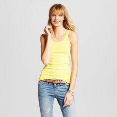 Women's Favorite Tank Yellow S - Merona, Yellow Bliss