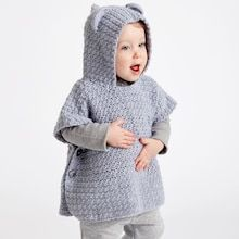 Fabulous Crochet a Little Black Crochet Dress Ideas. Georgeous Crochet a Little Black Crochet Dress Ideas. Crochet Baby Poncho, Crochet Toddler, Crochet Poncho Patterns, Crochet Bear, Cute Crochet, Crochet For Kids, Crochet Dolls, Crochet Stitches, Baby Knitting