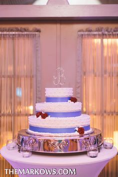 This cake looks too good to eat! A special thanks to Chocolate Carousel for making all the #weddingcakes for our Versailles Ballroom brides and grooms. www.VersaillesCaterers.com. Photo courtesy of Markow Photography. #wedding #bride #groom #marriage #VersaillesBallroom #njweddings #njbanquethall #tomsriver #nj #newjersey #weddingtheme #reception #weddingreception #Pinparty