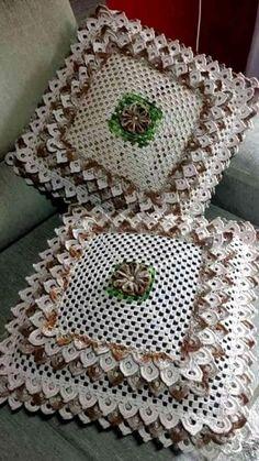 Ideas For Crochet Baby Blanket Free Pattern Tunisian Crochet Motifs, Crochet Flower Patterns, Crochet Stitches Patterns, Crochet Squares, Tunisian Crochet, Hat Patterns, Diy Crafts Crochet, Crochet Home, Crochet Projects