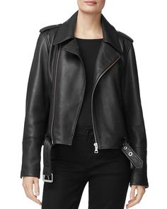 J Brand Maysen Leather Moto Jacket Women - Bloomingdale's Moto Jacket, Leather Jacket, Celebrity Outfits, Jackets Online, Fashion Branding, J Brand, Stylish Outfits, What To Wear, Jackets For Women