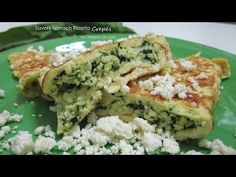 Savory Spinach Ricotta Crepes (South Beach Phase 1 Recipe) - Diet Plan 101