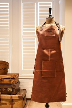 Full Leather heavyweight apron – T.S. Prince & Company